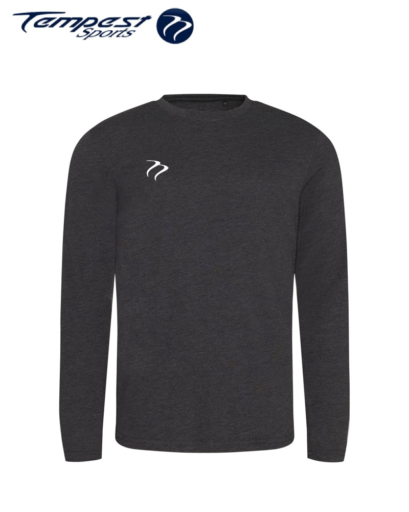 Tempest Long Sleeve T-shirt Charcoal