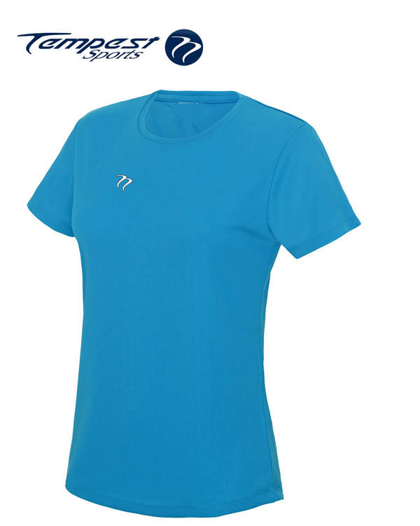 Tempest Women's Sapphire Blue Training T-shirt