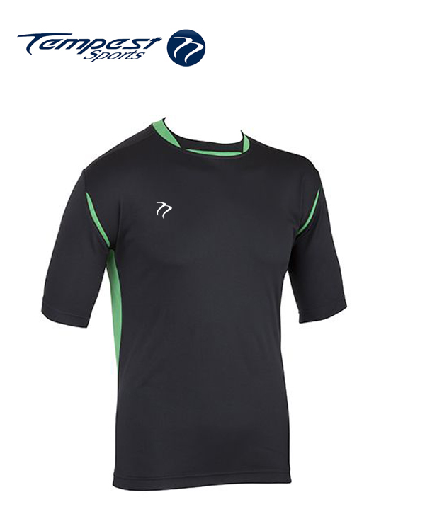 Tempest CK Black Green Training Shirt