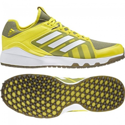 Adidas Hockey Lux Hockey Shoes 2018 Yellow/Trace Cargo