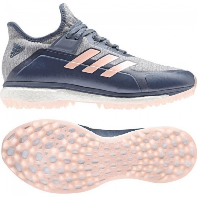Adidas Fabela X Hockey Shoes 2018 Grey/Pink