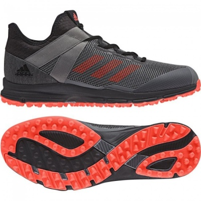 Adidas Zone Dox Hockey Shoes 2018 Black/Red