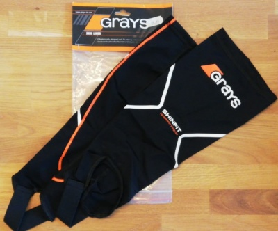 Grays Compression Shin Liner Orange