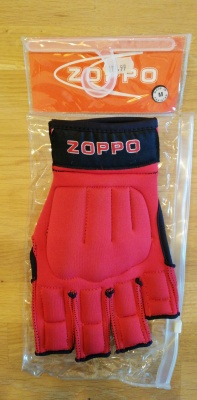 Zoppo Open Palm Protection Glove Red