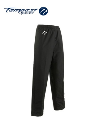 Tempest 'CK' Black Tracksuit Bottoms