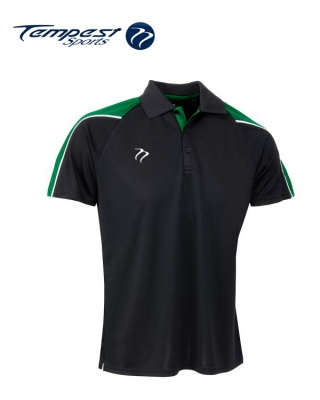 Tempest CK Black Green Playing Shirt