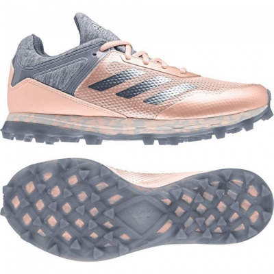 Adidas Fabela Zone Hockey Shoes 2018 Pink/Grey