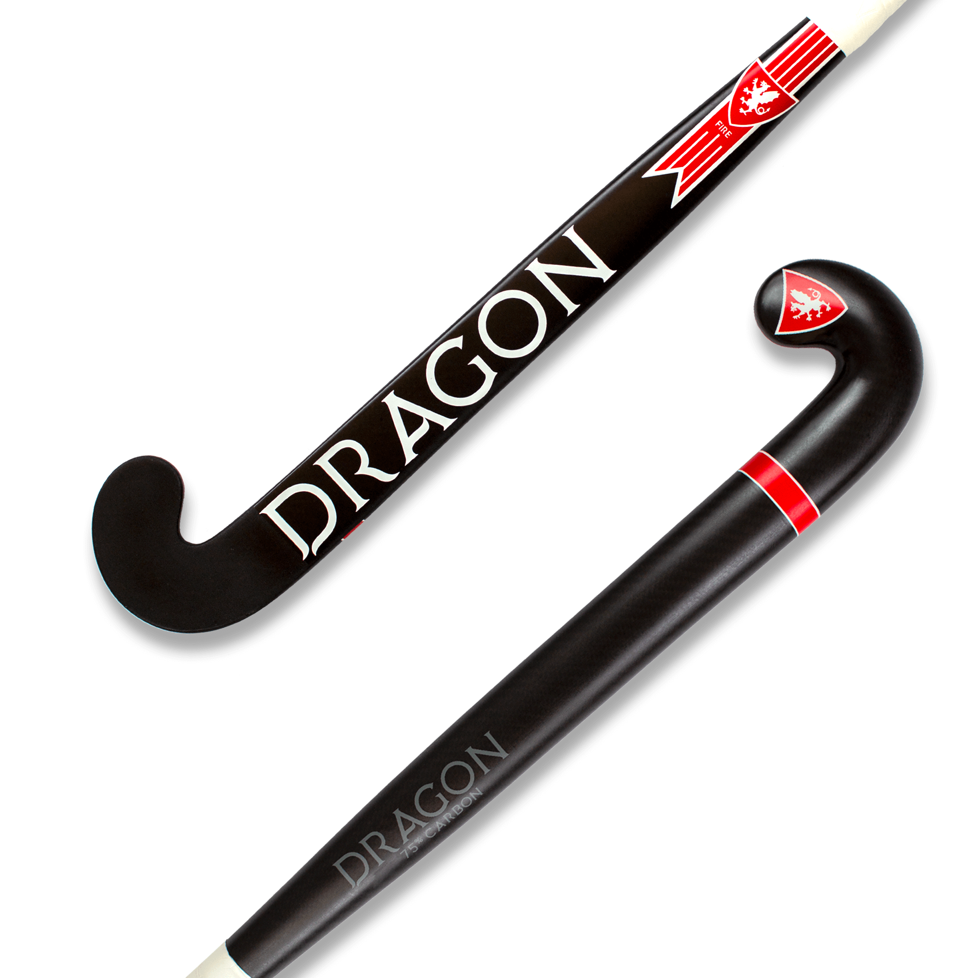 Fire Hockey Stick – 75% Carbon