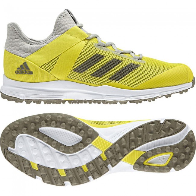 Adidas Zone Dox Hockey Shoes 2018 Yellow/Trace Cargo