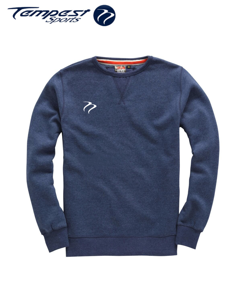 Tempest Heavyweight Sweater - Navy Melange