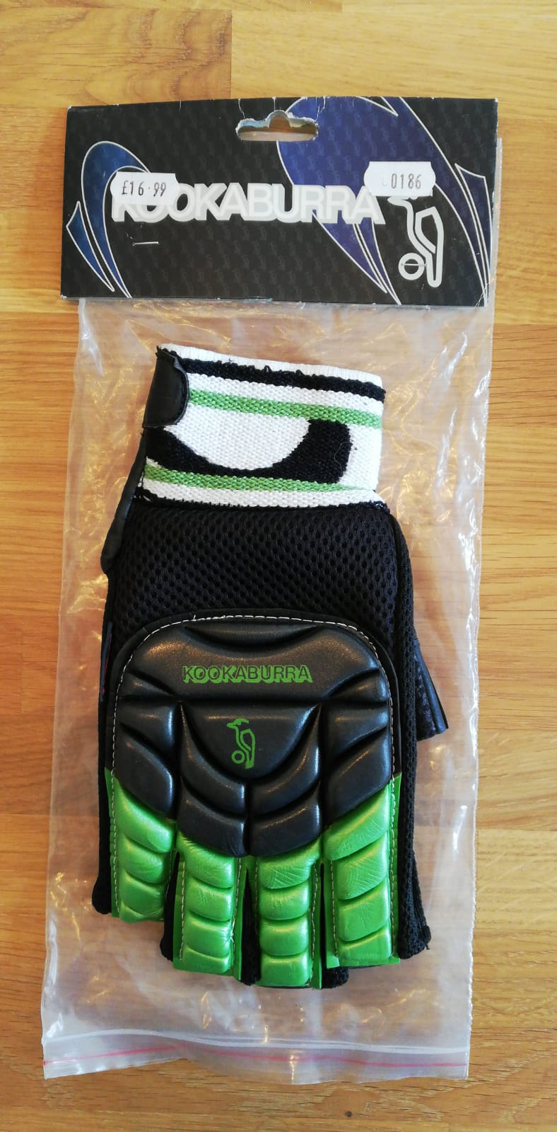 Kookaburra Right-Hand Protection Glove Green/Black