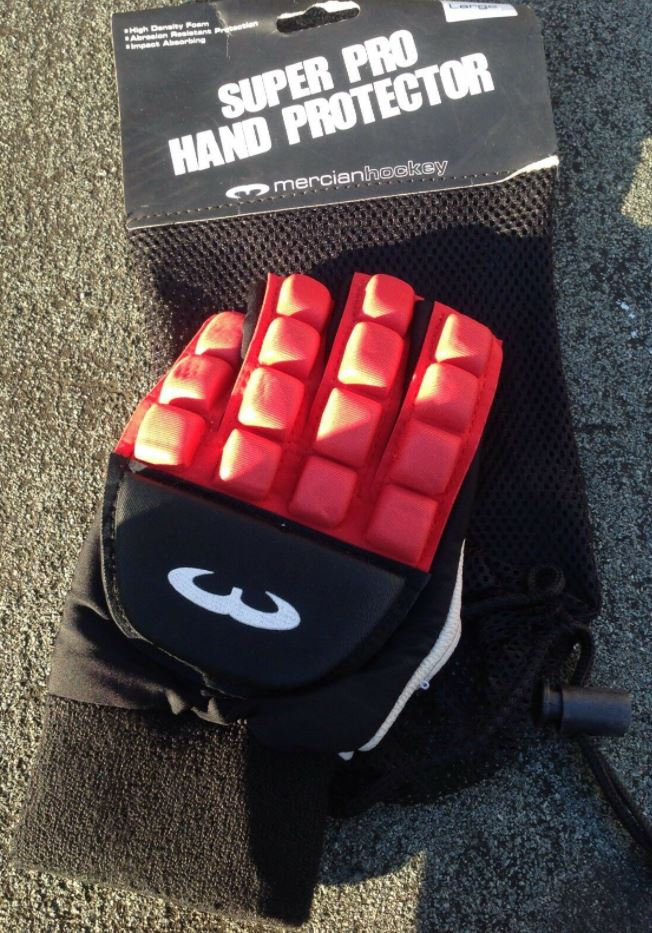 Mercian Protection Glove Red