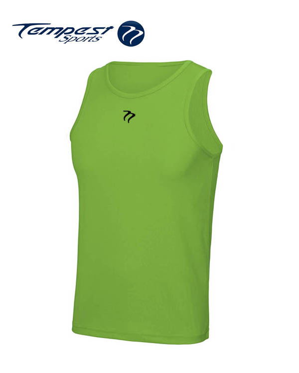 Tempest Lime Green Men's Training Vest