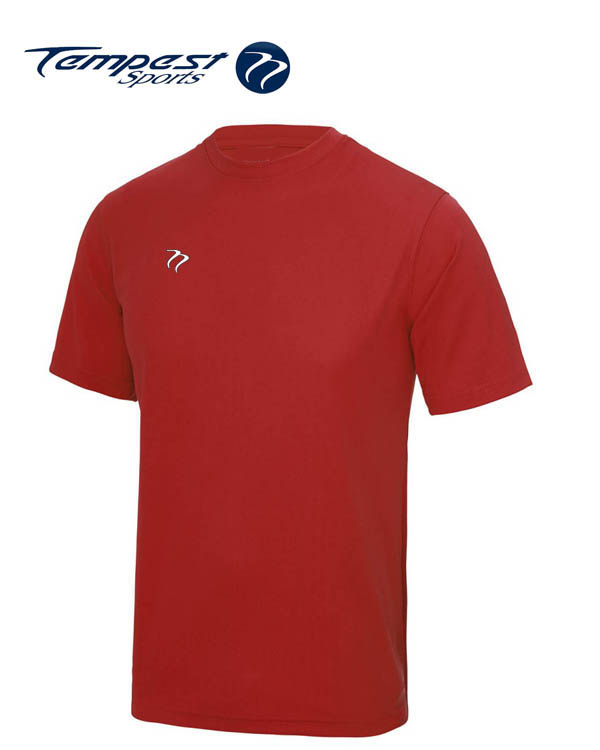 Tempest Lightweight Red Training Shirt