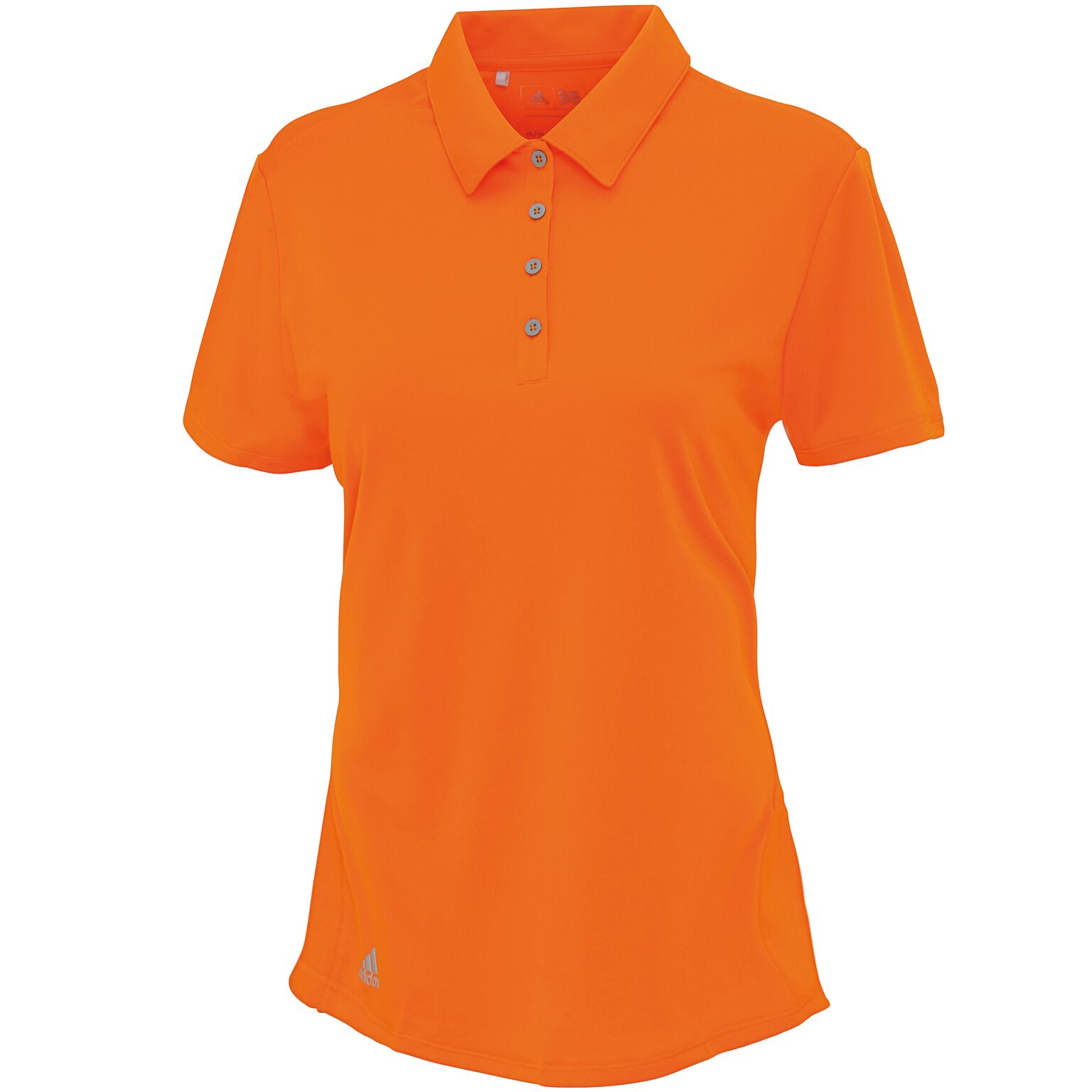 Adidas Women's teamwear polo Bright Orange