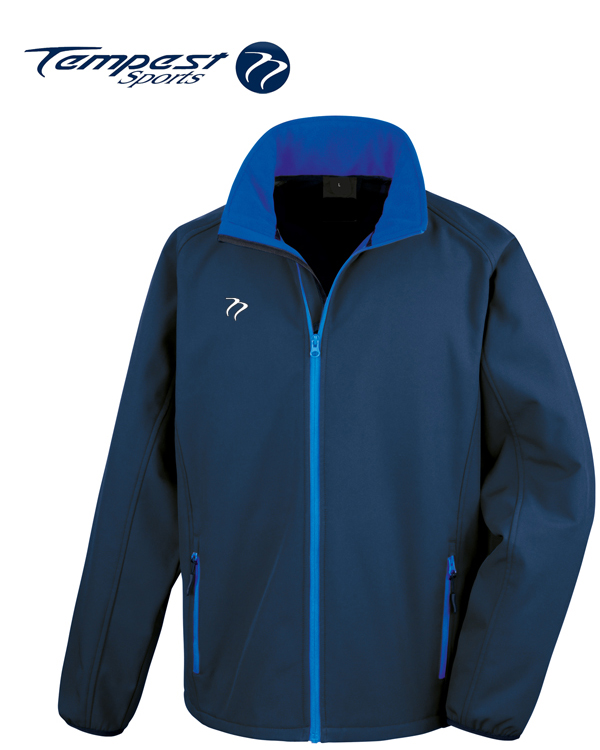 Tempest Navy Royal Soft Shell Jacket