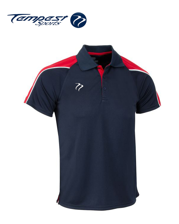 Tempest CK Navy Red Playing Shirt