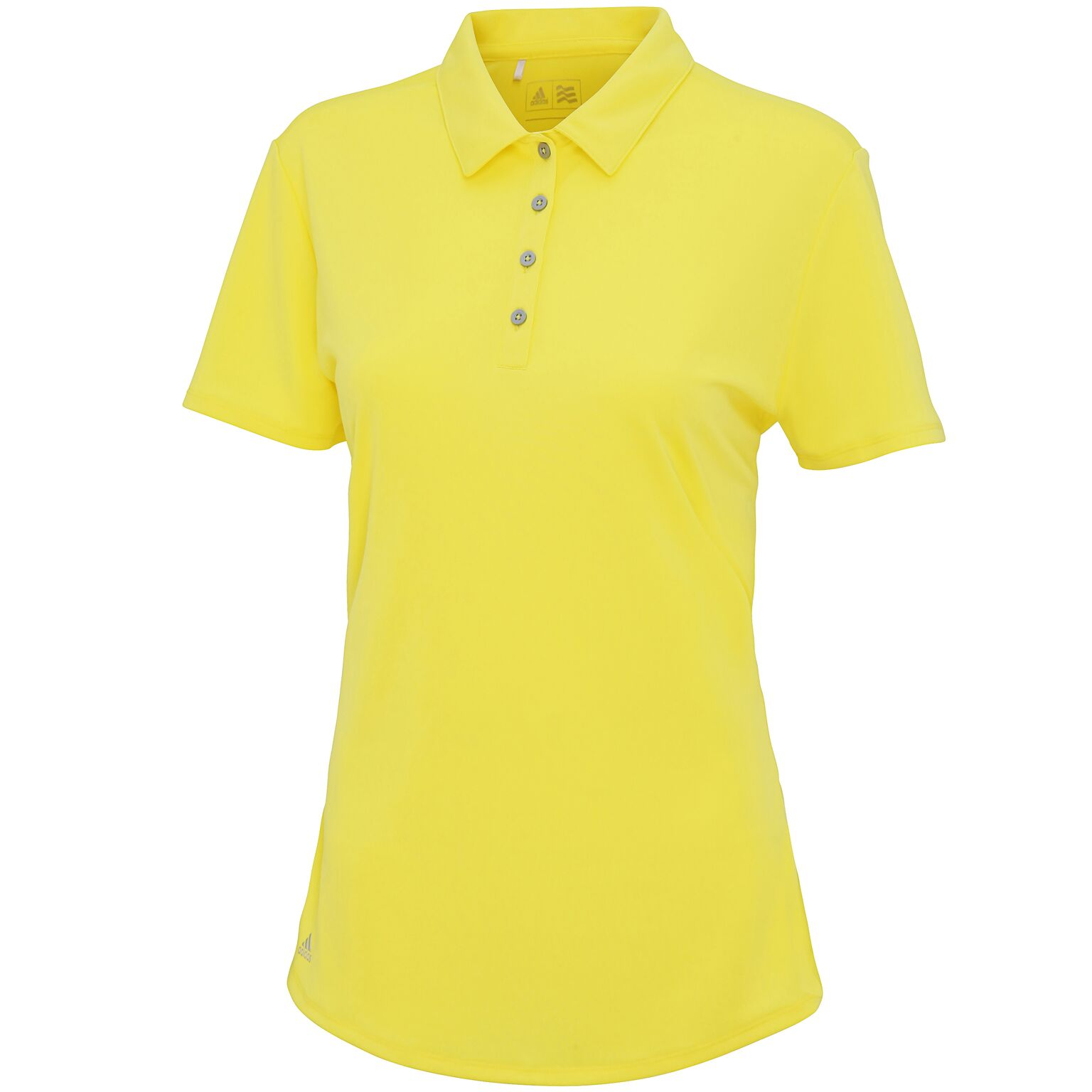 Adidas Women's teamwear polo Yellow