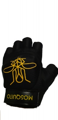 Mosquito Black Open Palm Glove