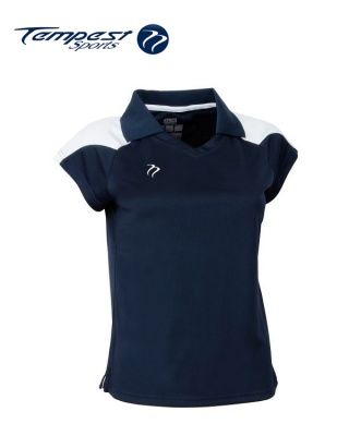 Tempest CK Womens Navy White Playing Shirt